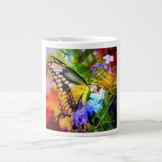 JUMBO do prazer de Swallowtail caneca de café de 2
