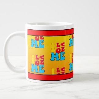Jumbo eu amo-me caneca de café
