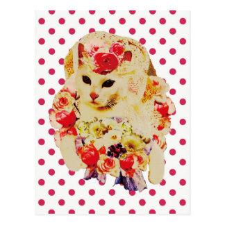 June bride cartão postal