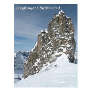 Jungfraujoch, cartão da suiça