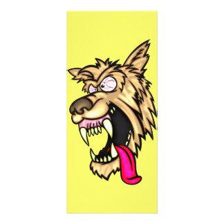 Junkyard Dog irritado 10.16 X 22.86cm Panfleto