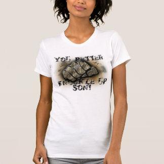 Junta acima do filho! t-shirts