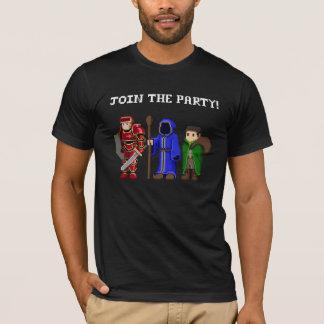 Junte-se à camisa do partido