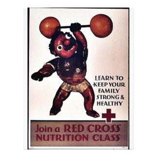 Junte-se à classe da nutrição da cruz vermelha modelos de panfleto