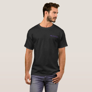 Junte-se à nação - camisa escura de T - roxo