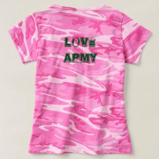 Junte-se ao exército do amor! camiseta