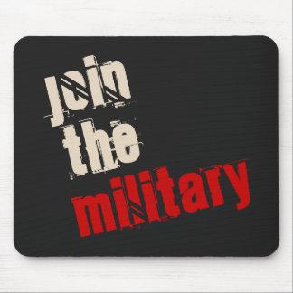 Junte-se ao Mousepad militar