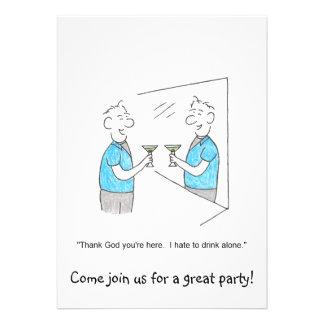 Junte-se nos convite de festas dos desenhos animad