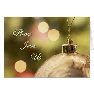 Junte-se por favor nos cartões do convite do