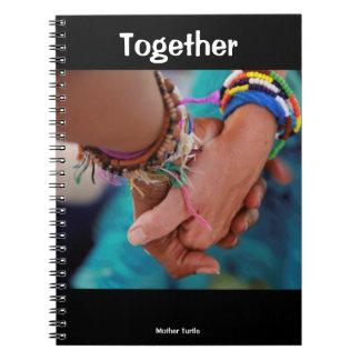 Junto caderno