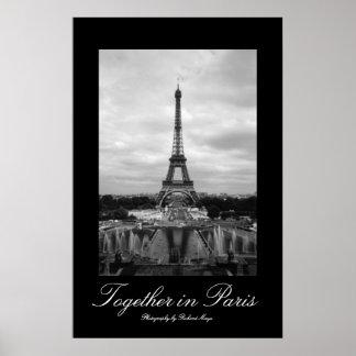 Junto em Paris Pôster