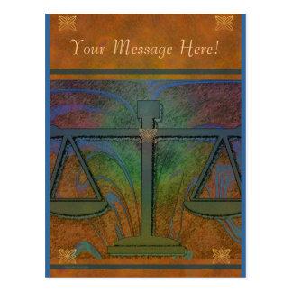 Justiça escala o cartão elegante