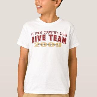 Juventude da equipe do mergulho de St Ives Camiseta