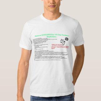 k.a.n.g.a Keperra/a diferença T-shirts