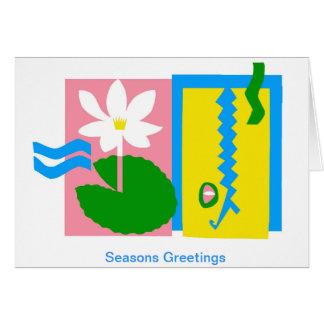 Kakadu - cartões australianos do Xmas