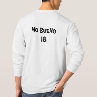 KAKAW NENHUMA camisa longa da luva de BUENO 18