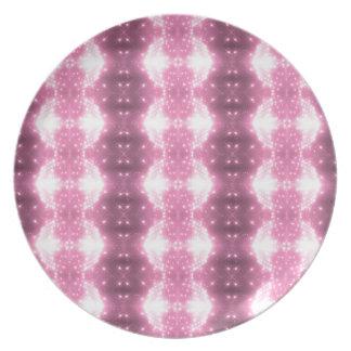 Kaleidosope Sparkling cor-de-rosa Louça De Jantar