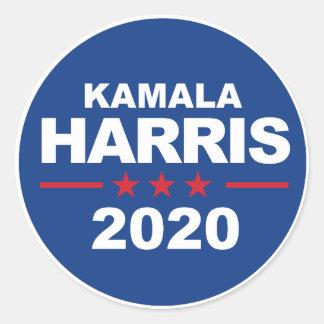 Kamala Harris 2020 - azul da etiqueta -