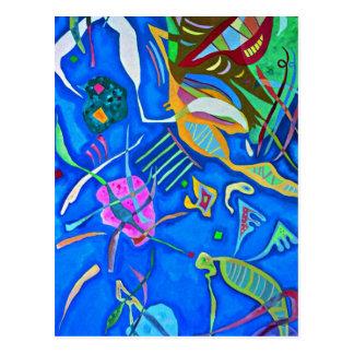 Kandinsky - agrupando cartão postal