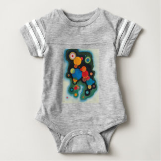 Kandinsky aprofundou o óleo abstrato do impulso em body para bebê