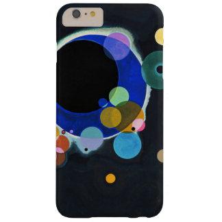 Kandinsky trabalhos de arte de diversos círculos capa barely there para iPhone 6 plus