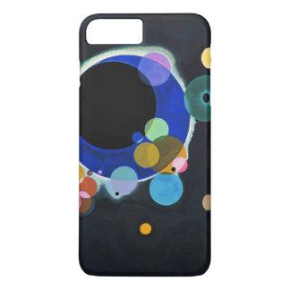 Kandinsky trabalhos de arte de diversos círculos capa iPhone 7 plus