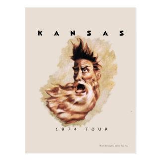 KANSAS - excursão 1974 Cartao Postal
