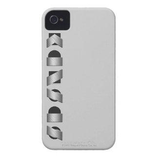 KANSAS (preto e branco) Capas Para iPhone 4 Case-Mate