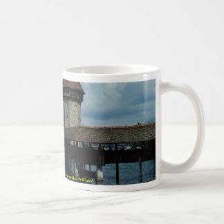 Kapelbruke, lucerna, suiça caneca de café