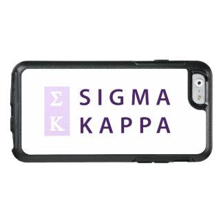 Kappa do Sigma empilhado