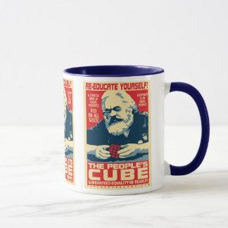 Karl Marx - o cubo do pessoa: Caneca de OHP