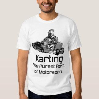 Karting - o formulário o mais puro do Motorsport Camiseta