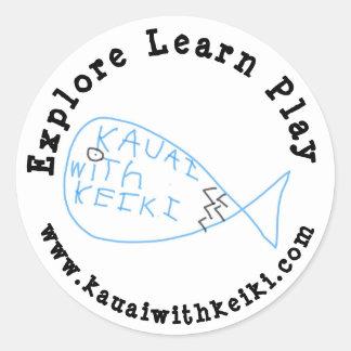Kauai com etiqueta de Keiki