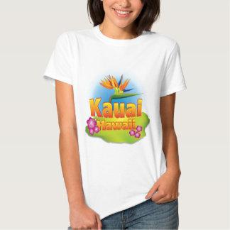 Kauai, Havaí Desgin Camisetas