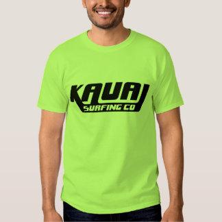 Kauai que surfa o t-shirt do logotipo do Co.