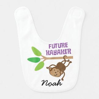 Kayaker futuro babador personalizado do bebê