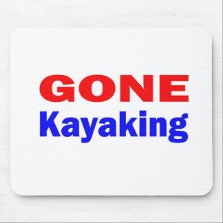 Kayaking. ido mouse pad