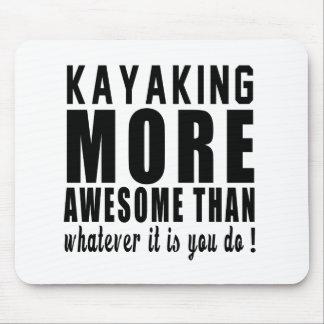 Kayaking mais impressionante do que o que quer que