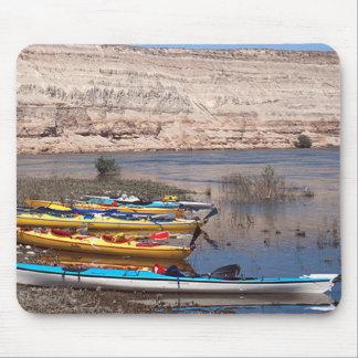 Kayaking Mouse Pad