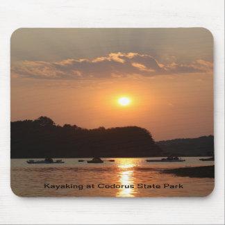 Kayaking no parque estadual de Codorus Mousepad