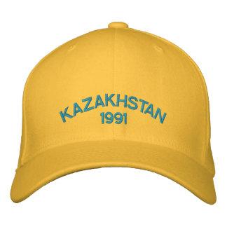 Kazakhstan bordou o chapéu boné bordado
