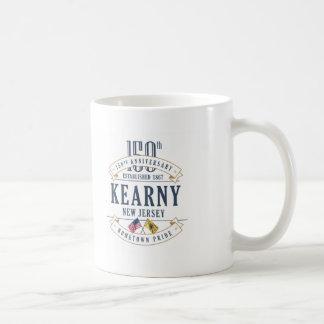 Kearny, caneca do aniversário de New-jersey 150th