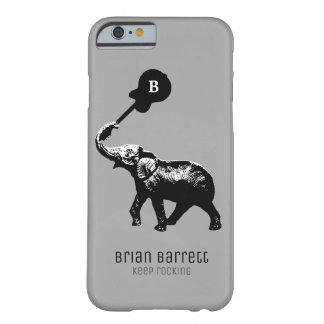 Keep que balança, elefante com guitarra capa barely there para iPhone 6