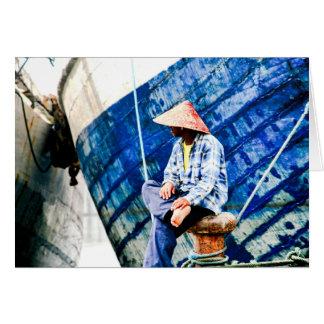 Kelapa Gading, Indonésia Cartão De Nota