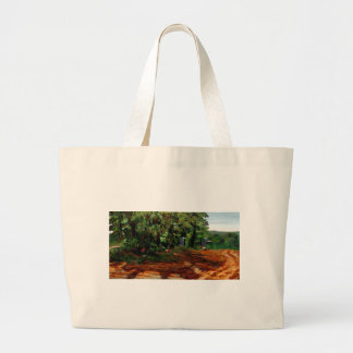 Kenneth_Cobb_landscapesketch2_2001_OilonBoard_12in Sacola Tote Jumbo