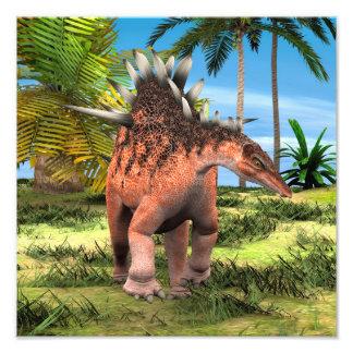 Kentrosaurus do dinossauro arte de fotos