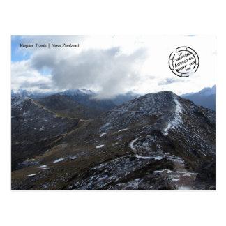 Kepler Track 2 (Nova Zelândia cartão postal)