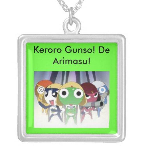 Keroro Gunso! De Arimasu! Colares Personalizados