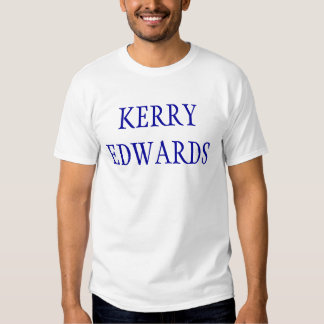 Kerry Edwards 2004 Camisetas