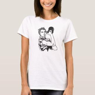 Kettlebell nós podemos FAZÊ-LO camisa da mulher de